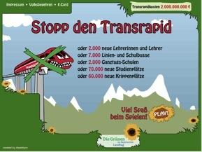 Grüne gegen Transrapid
