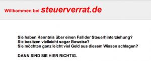 Steuerverrat.de