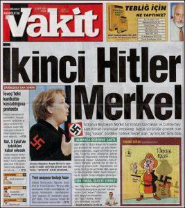 Vakit-Merkel-artikel